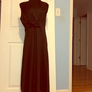 Christopher and Banks Long Black Dress Size LG